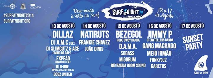 Surf at Night na Vila do Surf – Cortegaça