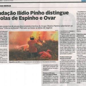 Fundaçao Ilídio Pinho distingue Escolas de Espinho e Ovar