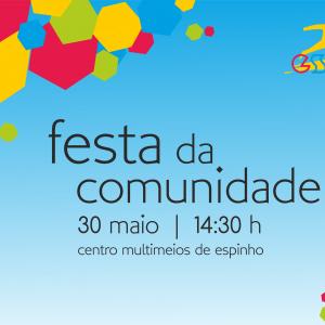 Cartaz Divulgação Festa Com 2015
