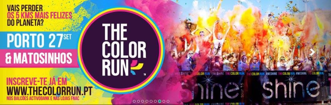Colaboração no Color Run