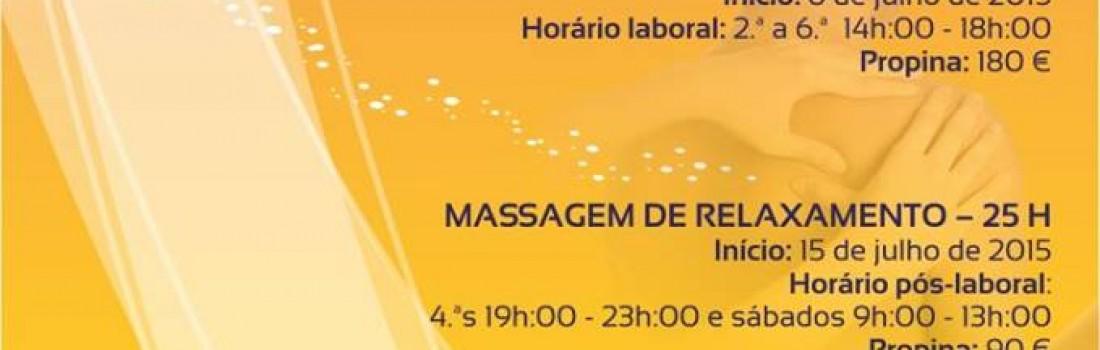 Cursos de Massagens Terapêuticas