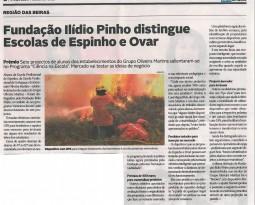 Fundação Ilídio Pinho distingue Escolas de Espinho e Ovar