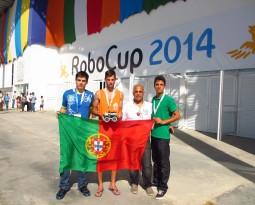 Equipa Espe no Festival mundial de Robótica, Robocup a decorrer no Brasil