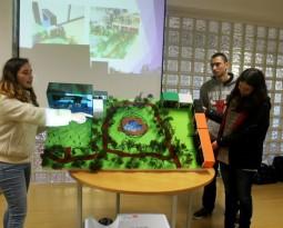 Apresentação e Defesa do projeto de Planeamento de Espaços.