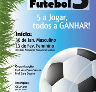 Torneio de Futebol 5 – Interturmas
