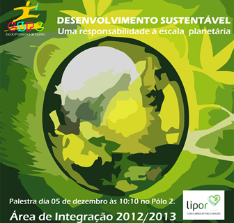 Palestra – Desenvolvimento Sustentável