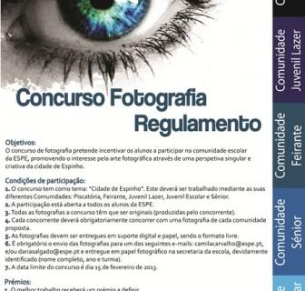 """Concurso Fotografia """"O teu olhar sobre ESPINHO"""""""