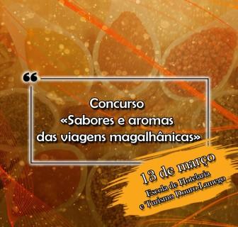 Concurso «Sabores e aromas das viagens magalhânicas»