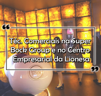 Téc. Comerciais na Super Bock Group, Centro Empresarial da Lionesa, Porto e Gaia